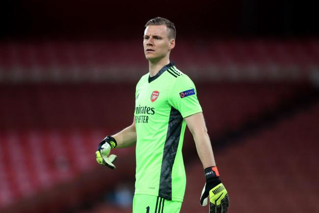 Bernd Leno will hope to help Arsenal qualify for the Europa League semi-finals on Thursday