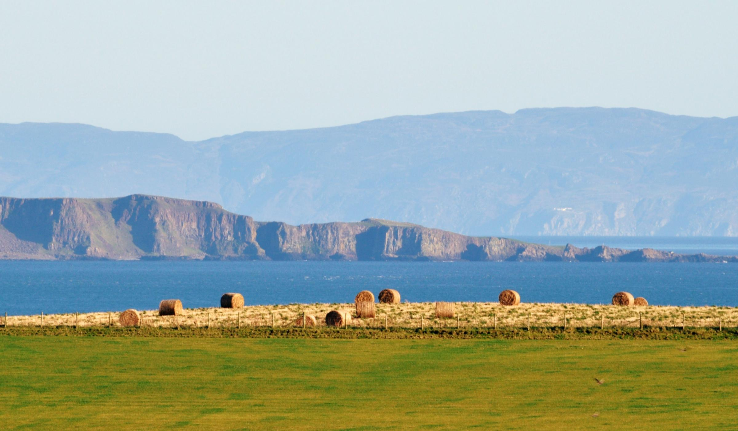 Scottish Panoramas: A Beatle's retreat at the end of the world (or the Mull of Kintyre as it's also known)