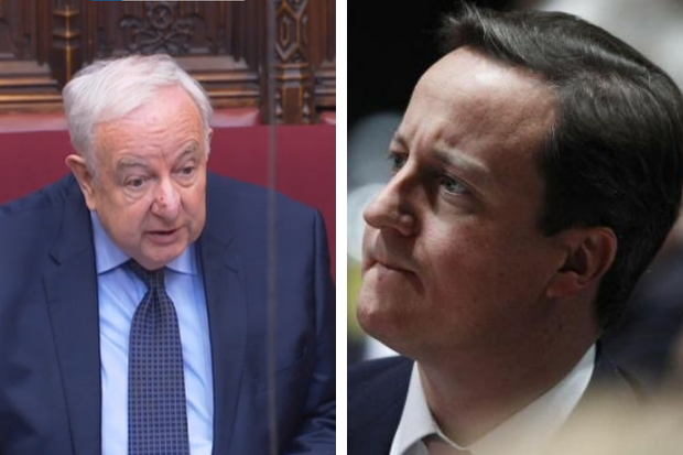 Peer says 'Cameron's sleaze has crossed the border' and urges Greensill probe to cover Scotland