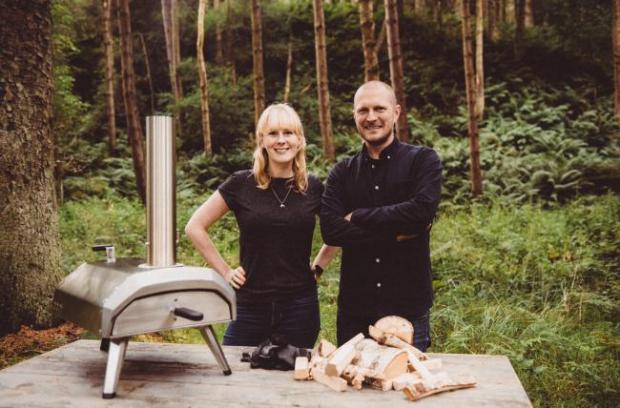 HeraldScotland: Kristian Tapaninaho and Darina Garland founded Ooni Pizza Ovens in 2012