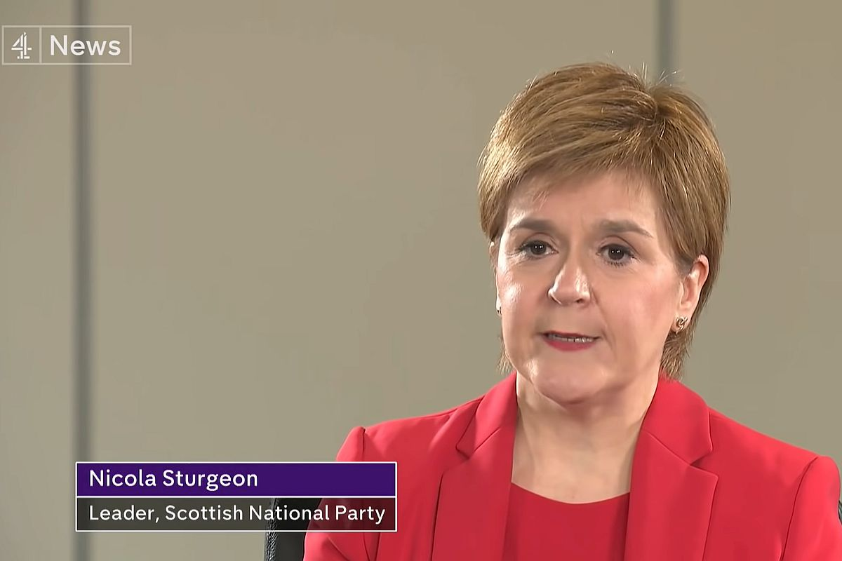 Sturgeon admits SNP's economic plan for Indy now 'completely out of date'