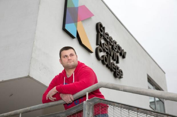 HeraldScotland: Student Grant MacKay, outside Glasgow Kelvin College's East End Campus, fears the dispute could hit his plans for a university place.