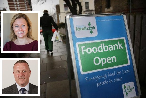Blame game: Row over who is responsible as 'shocking' rise in Scots food bank use is laid bare