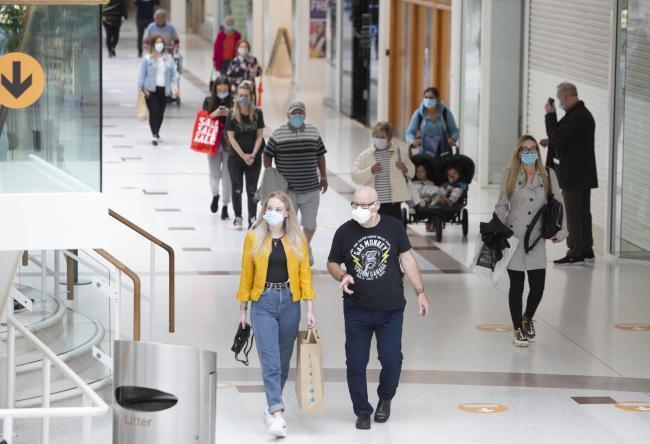 Shopping centres will reopen again on Monday in Scotland, with more than 60 per cent of the adult population now vaccinated and - according to new research - at substantially less likely to catch and spread the virus