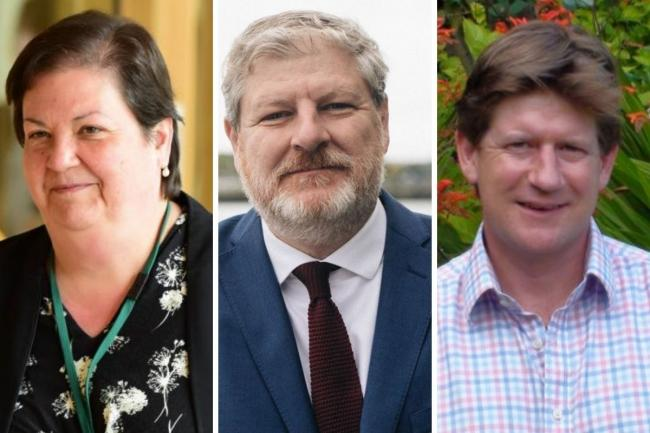 Jackie Baillie, Angus Robertson and Alexander Burnett are contesting marginal seats at May's election