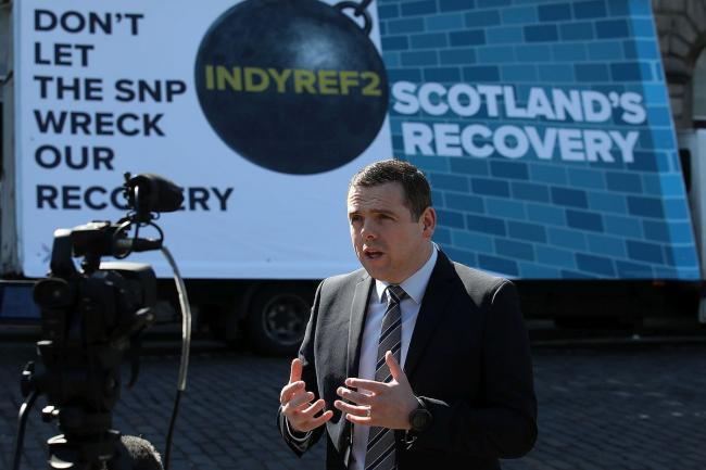 Douglas Ross warns independence parties plan Holyrood 'hijacking'