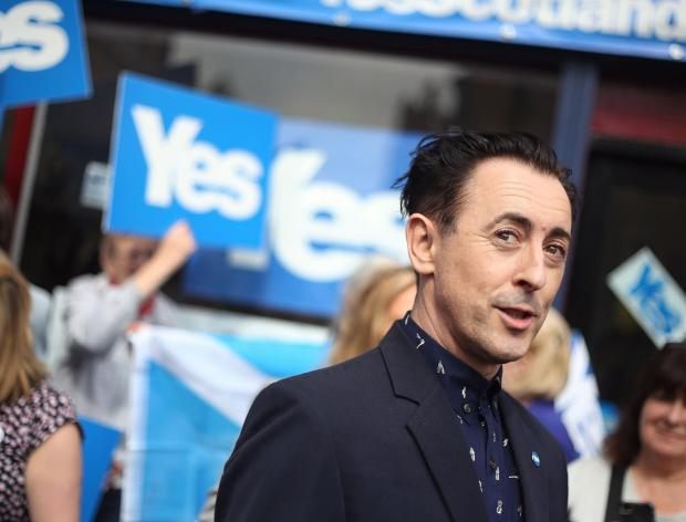 HeraldScotland: 'An online Get the Vote Out rally – hosted by Alan Cumming – will run live on Sunday evening at 7pm'