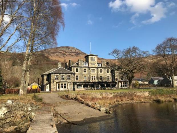 HeraldScotland: The property on the banks of the loch