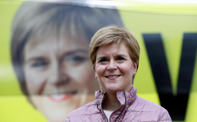 Nicola Sturgeon says she is the only candidate offering