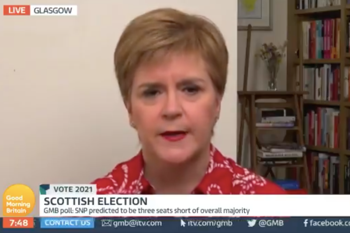 'Nonsense': Sturgeon rejects claims an independent Scotland could not procure Covid vaccine