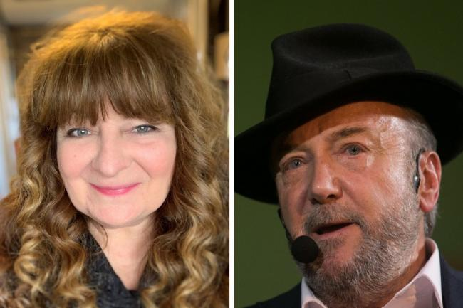 Janey Godley, George Galloway