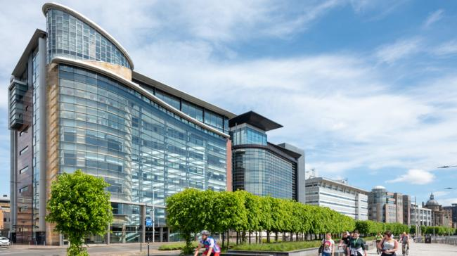 Clyde waterfront office in touchless transformation