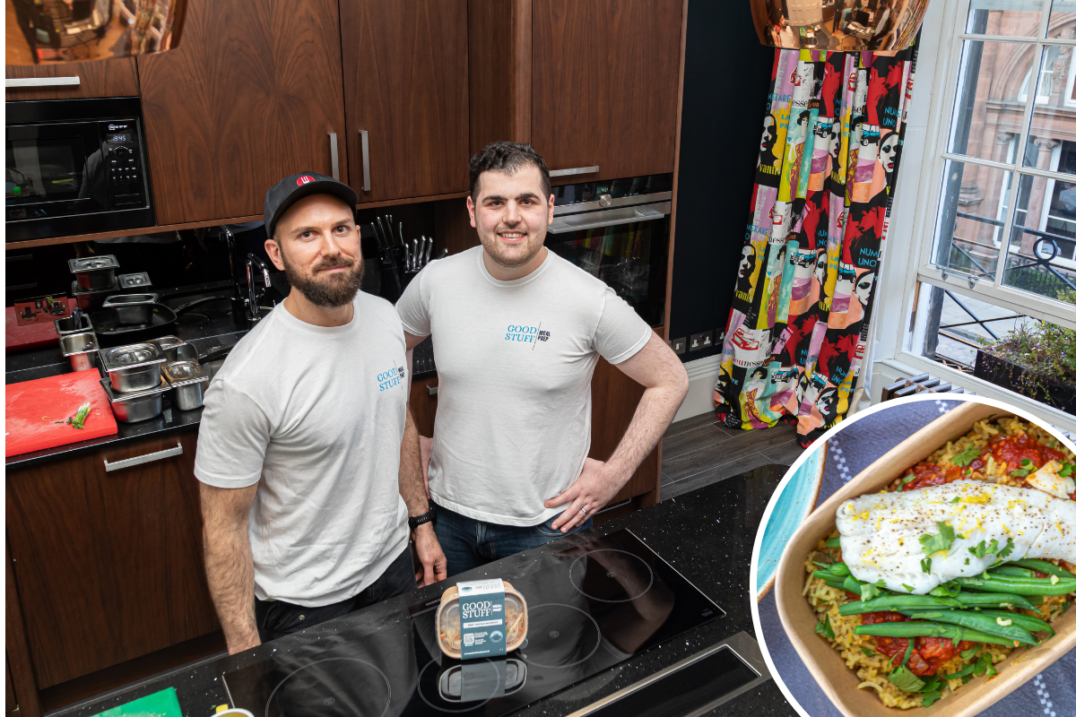 Brothers launch food prep and delivery firm in Scottish city
