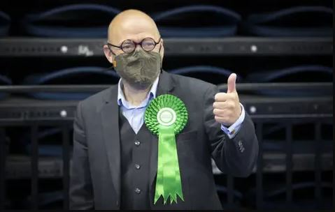 Patrick Harvie says list votes for Greens up across Scotland