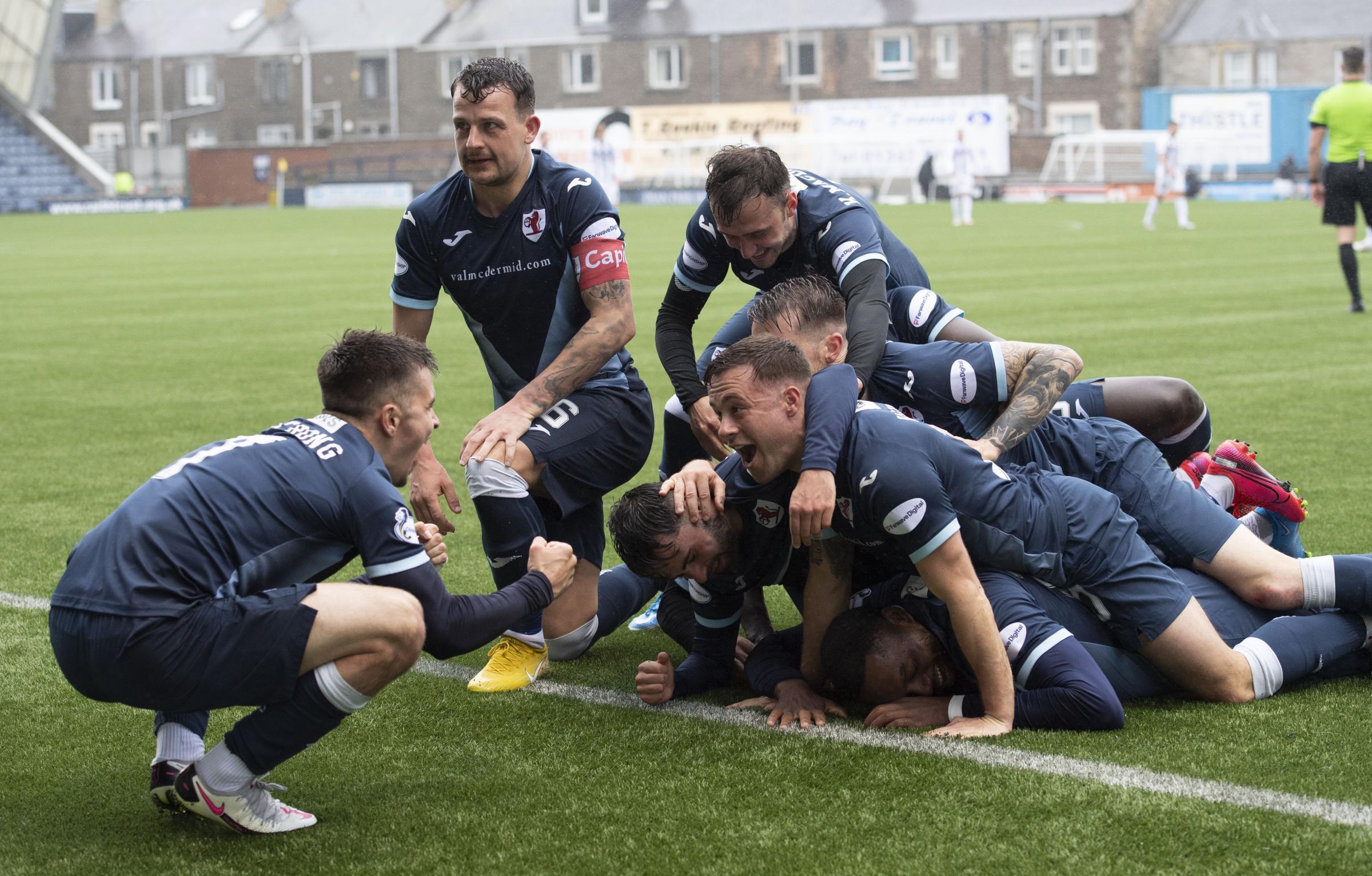 Raith Rovers 2-0 Dunfermline: McGlynn's men tee up semi-final with Dundee