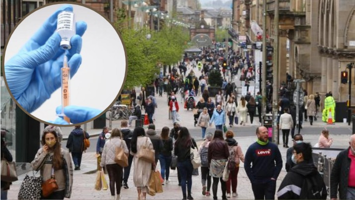 Coronavirus: Glasgow 'surge vaccinations' for young people in Covid hotspots where virus rate is 25 TIMES Scotland average