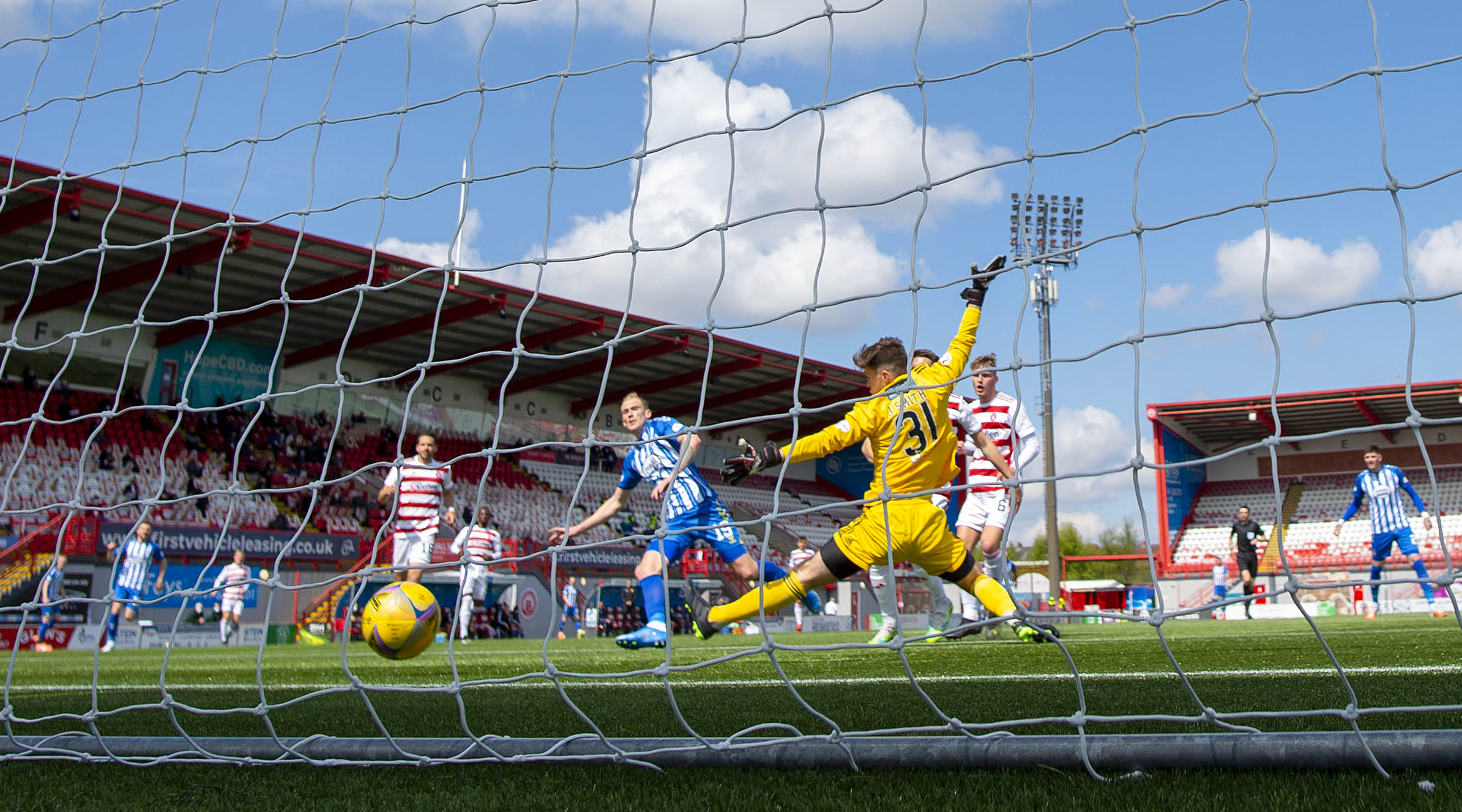 Hamilton 0-2 Kilmarnock: Accies sent down with Killie condemned to play-off