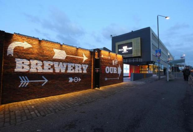 HeraldScotland: Wellpark Brewery in Glasgow. Picture: Colin Mearns.