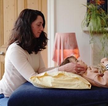 Laure Stephen, Reiki practitioner has been volunteering at Marie Curie hospice in Edinburgh
