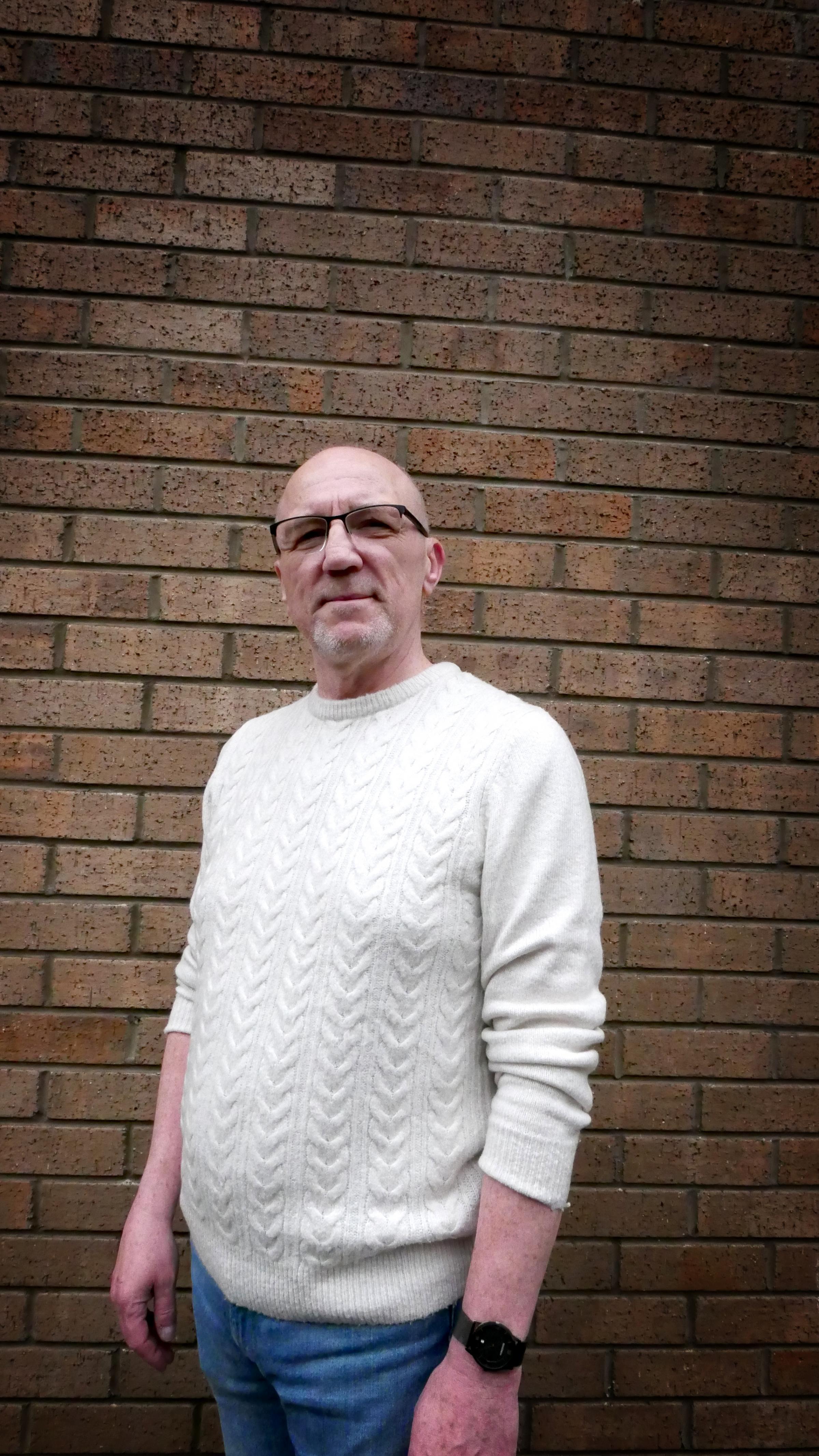 Paul McCay has been volunteering at a befriending service