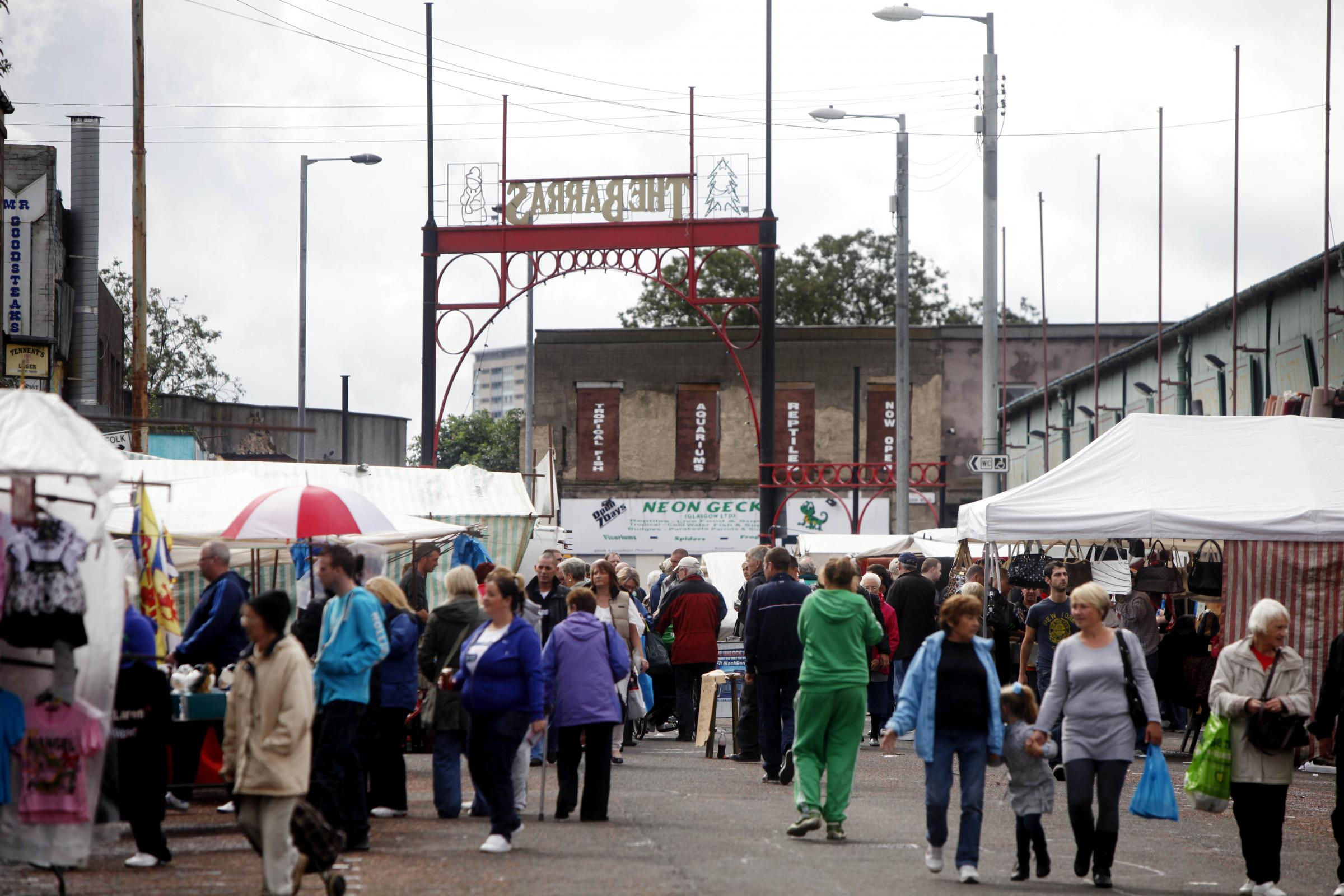 The Barras: Glasgow's famous market is 100 years old, but is there a future for it?