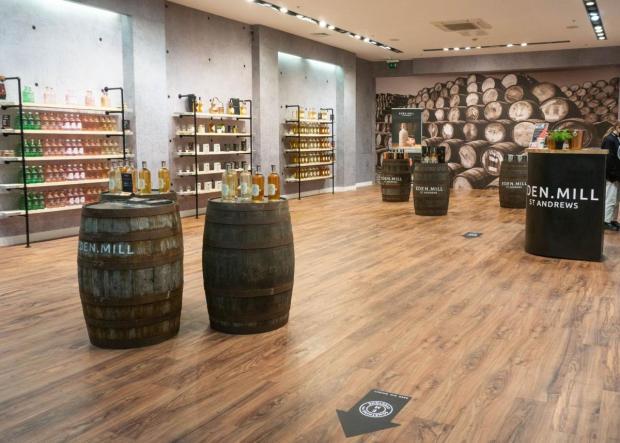 HeraldScotland: The Silverburn store is the distiller's biggest to date.