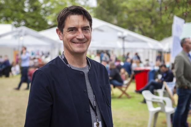 HeraldScotland: Edinburgh International Book Festival director Nick Barley
