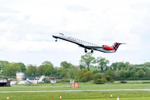 HeraldScotland: Loganair Embraer 145