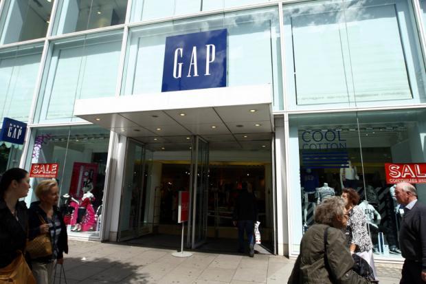 HeraldScotland: Gap's 81 stores are to close.
