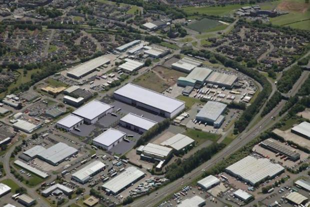 HeraldScotland: The site of the £50m development.