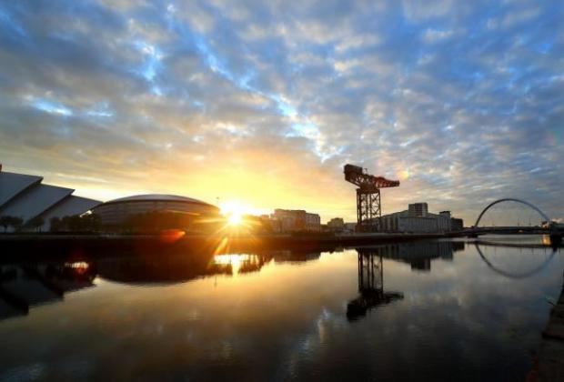 HeraldScotland: View of the SSE Hydro from across the River Clyde Picture: Colin Mearns.