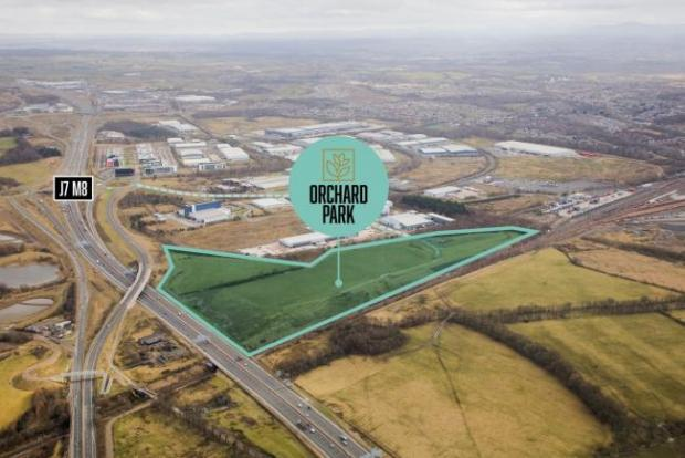 HeraldScotland: The development site.