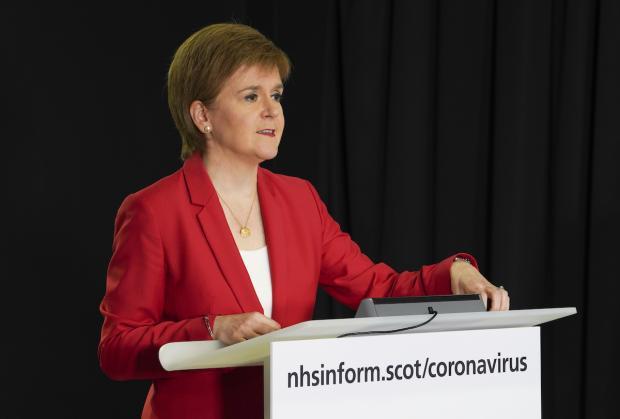HeraldScotland: Nicola Sturgeon has regularly fronted Covid-19 briefings