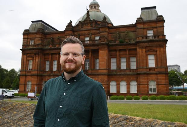HeraldScotland: Councillor David McDonald, chairman of Glasgow Life, at the People's Palace