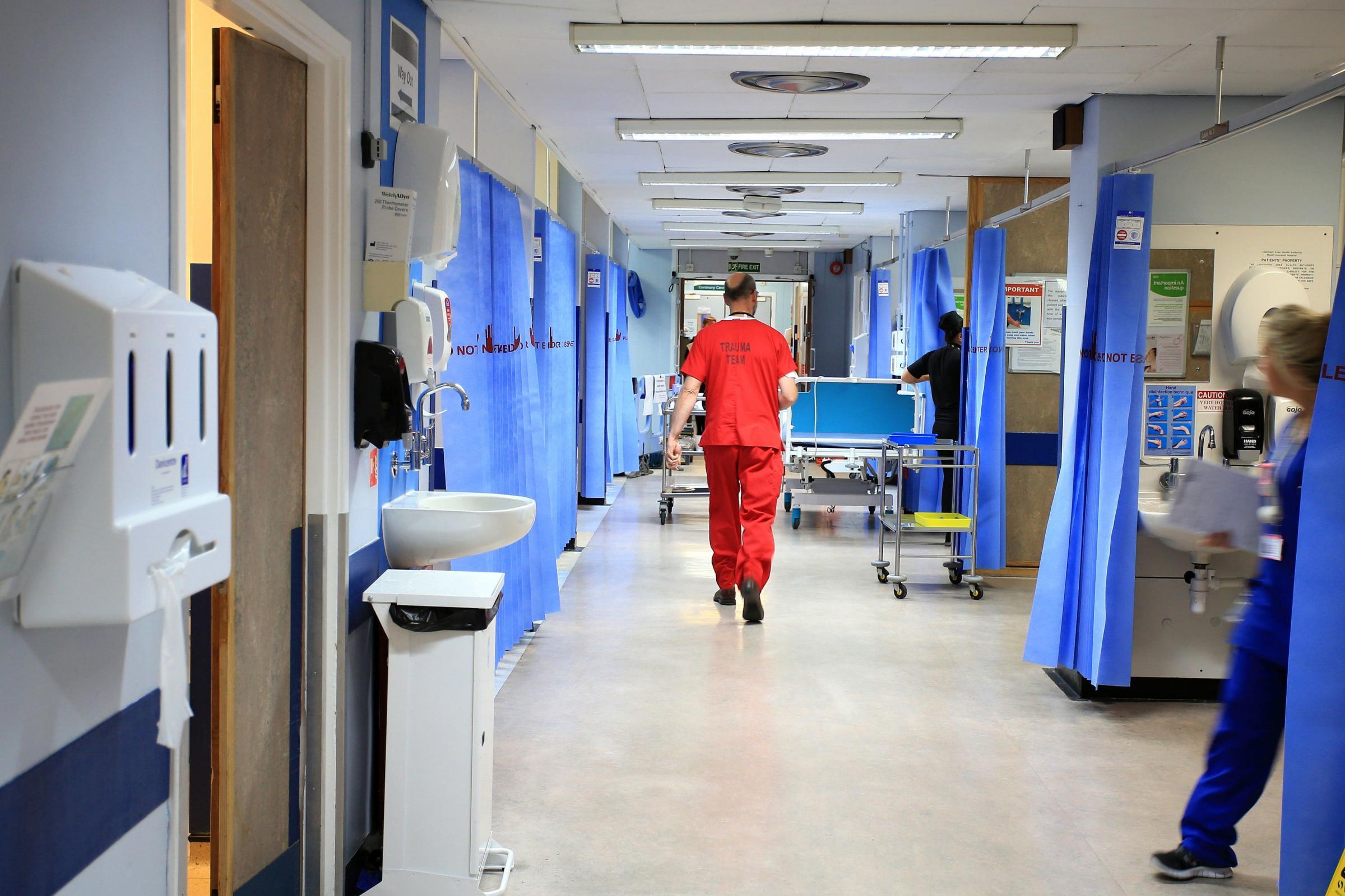 NHS Lanarkshire emite alerta de nivel de riesgo más alto 'negro'
