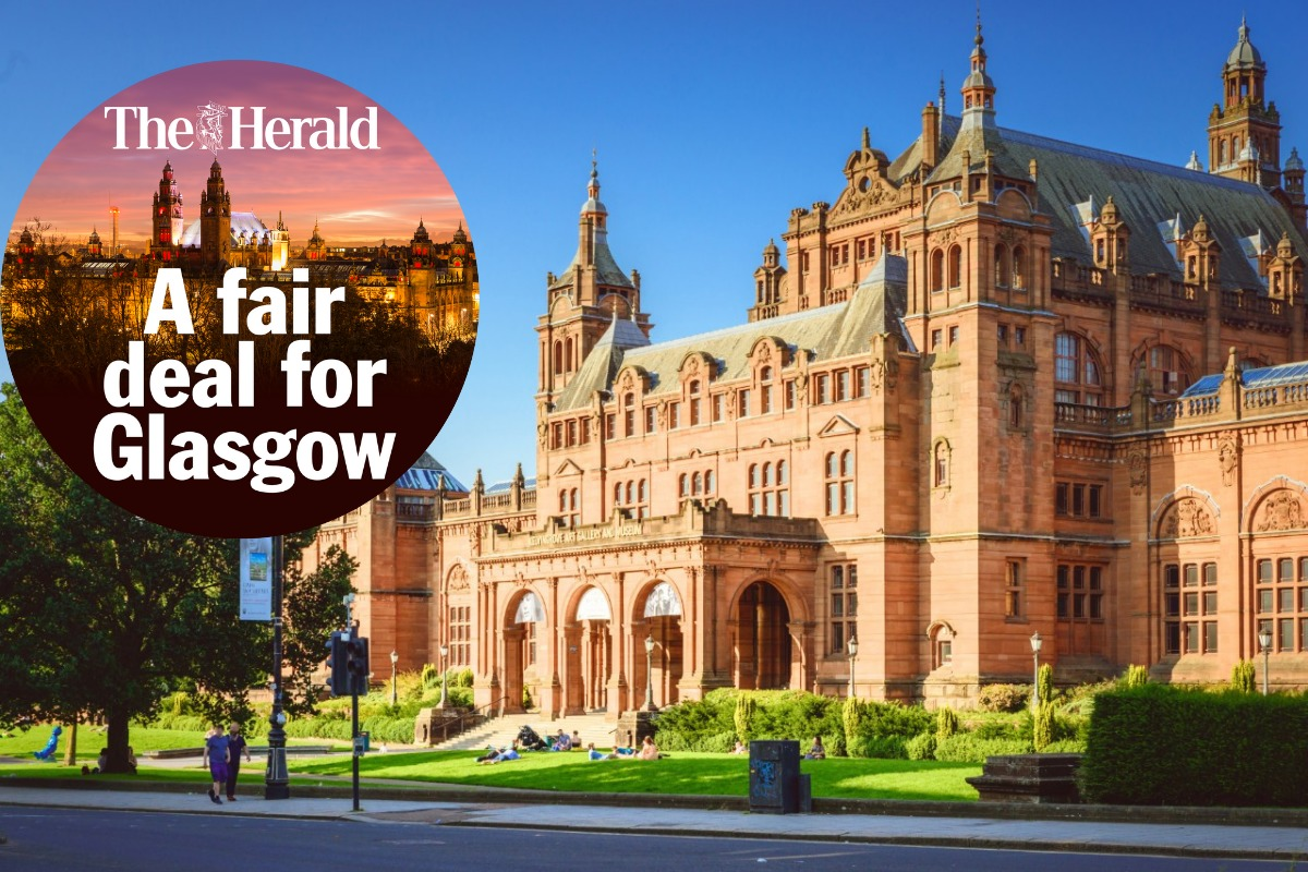 The flagship Kelvingrove Art Gallery and Museum