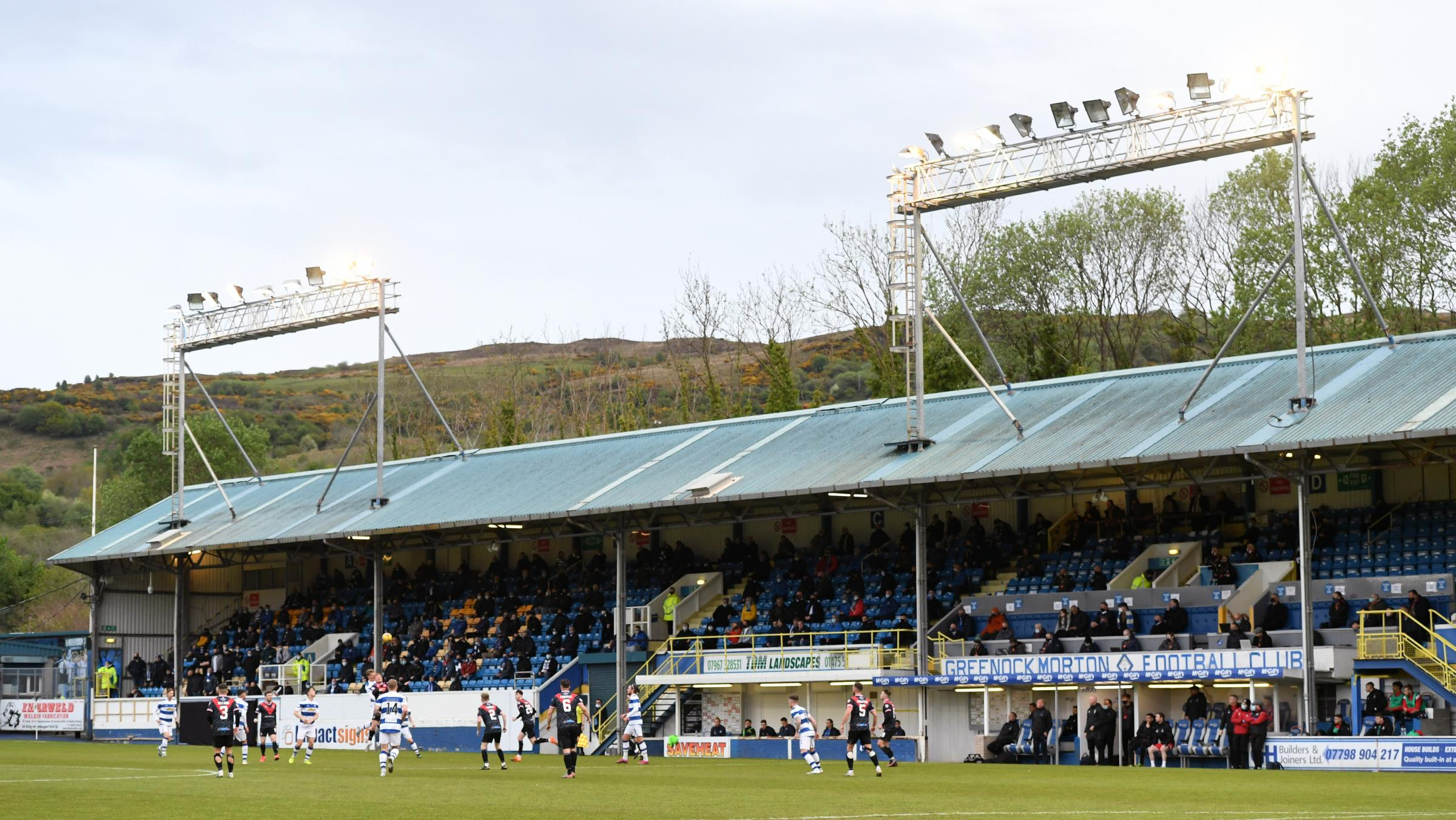Greenock Morton latest club hit with Covid outbreak as they forfeit cup tie after 'multiple' players hit
