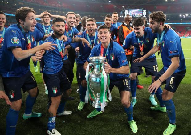 HeraldScotland: Italy celebrate their Euro triumph