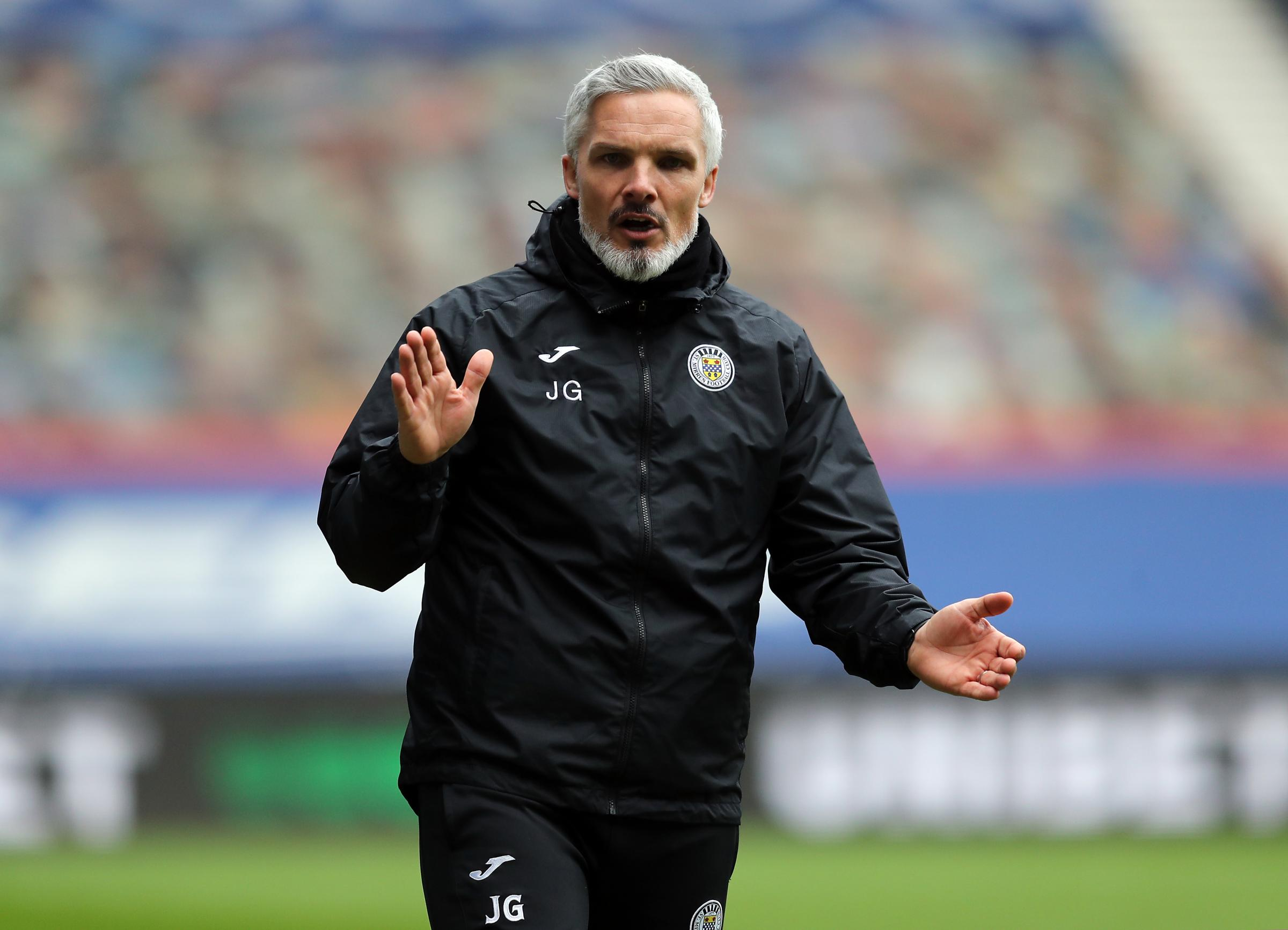 Jim Goodwin makes 'be sensible' plea to St Mirren stars he calls for close contacts rule rethink