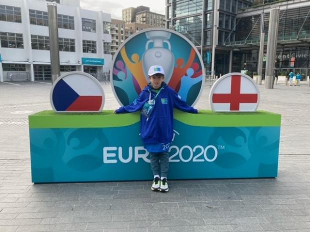 HeraldScotland: England Roman Khoroshaev Matchday