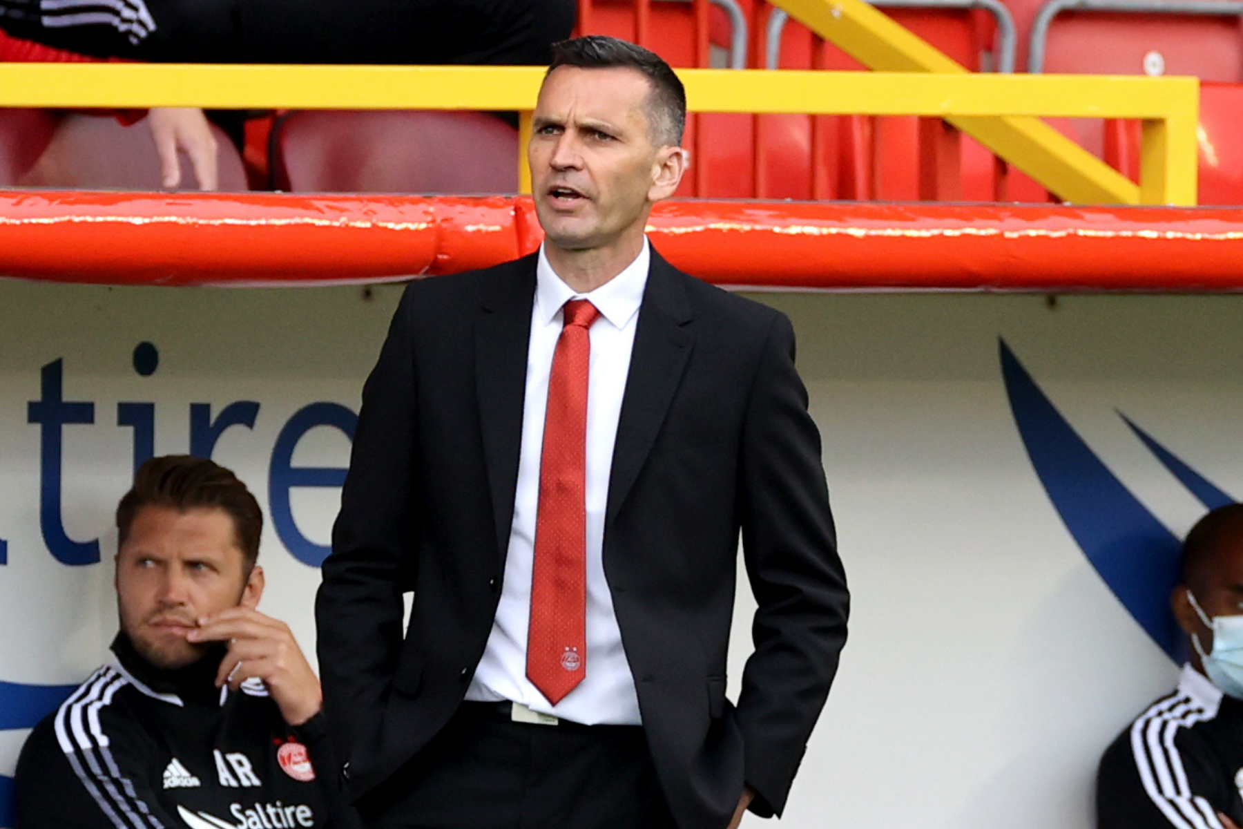 Stephen Glass & Aberdeen not satisfied to sit on lead over BK Hacken as manager details template game plan