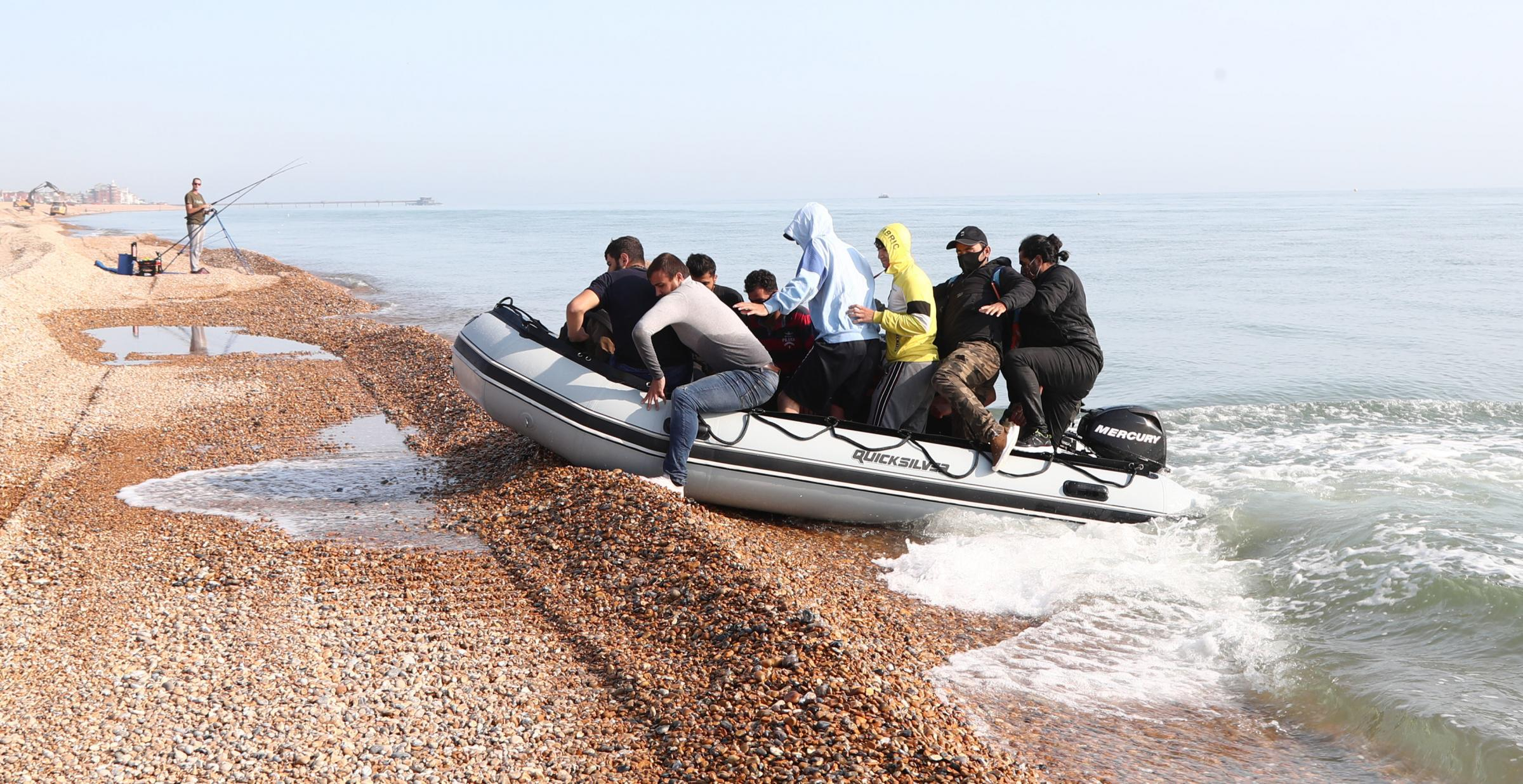 English Channel crossings in 2021 double of last year's figures