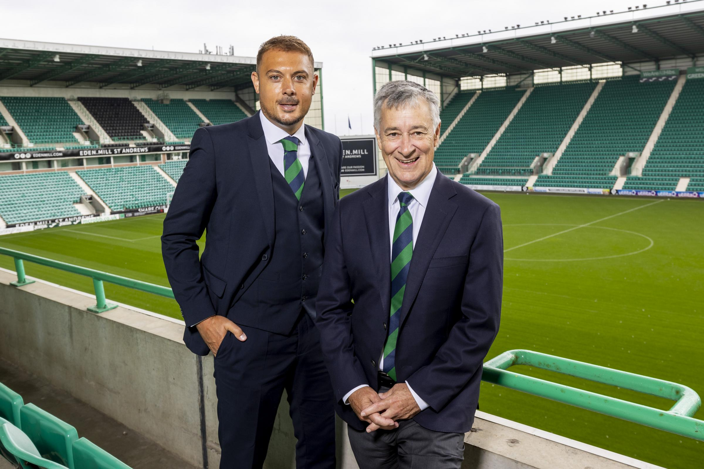 Chief executive Ben Kensell on leaving Norwich Premier League challenge minute he knew Hibs were interested