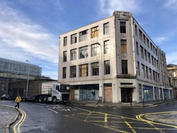 HeraldScotland: Robertson House Furnishers traded at the building for decades.