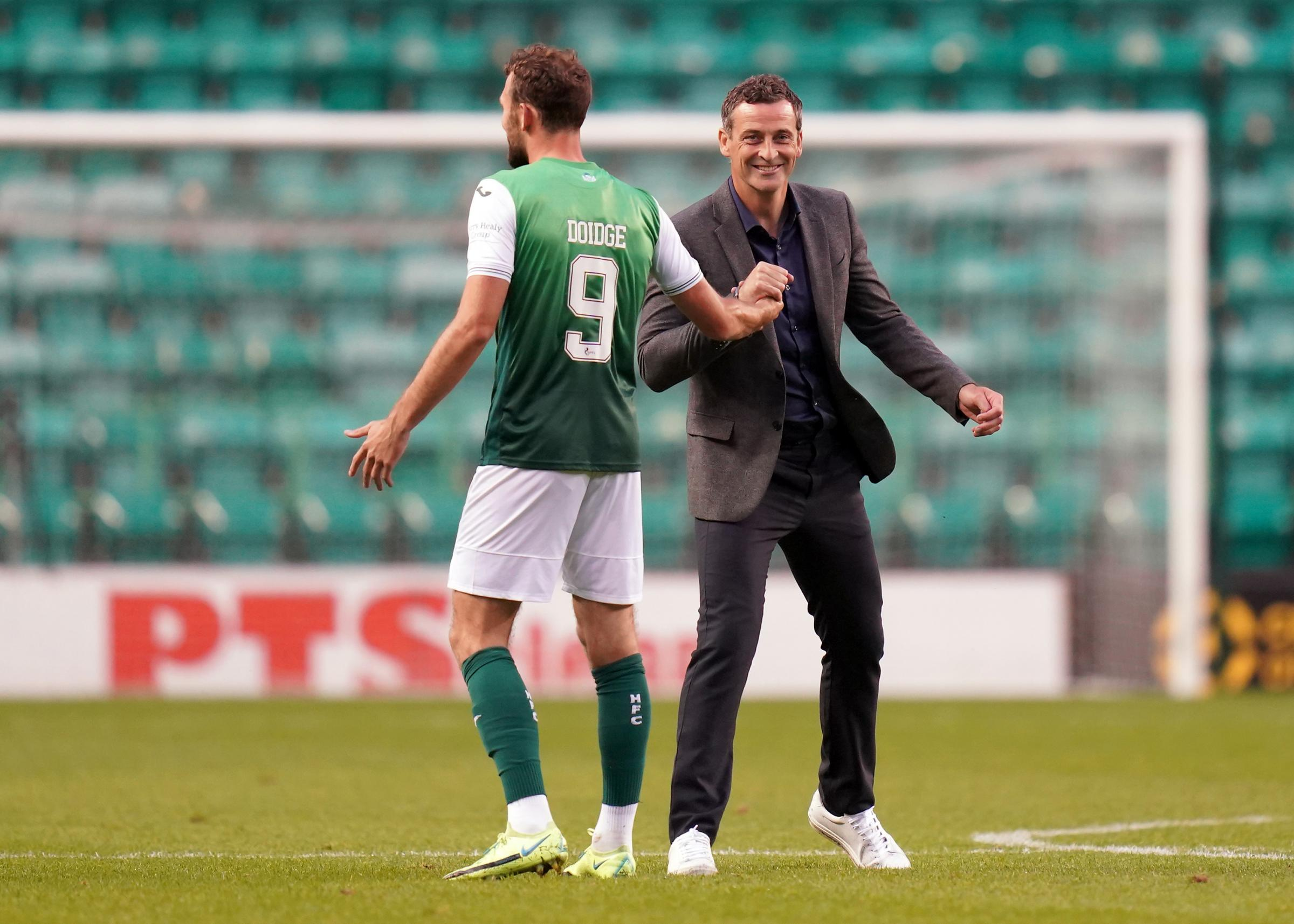 Jack Ross expresses his delight as Hibs ease past Santa Coloma in the Uefa Conference League