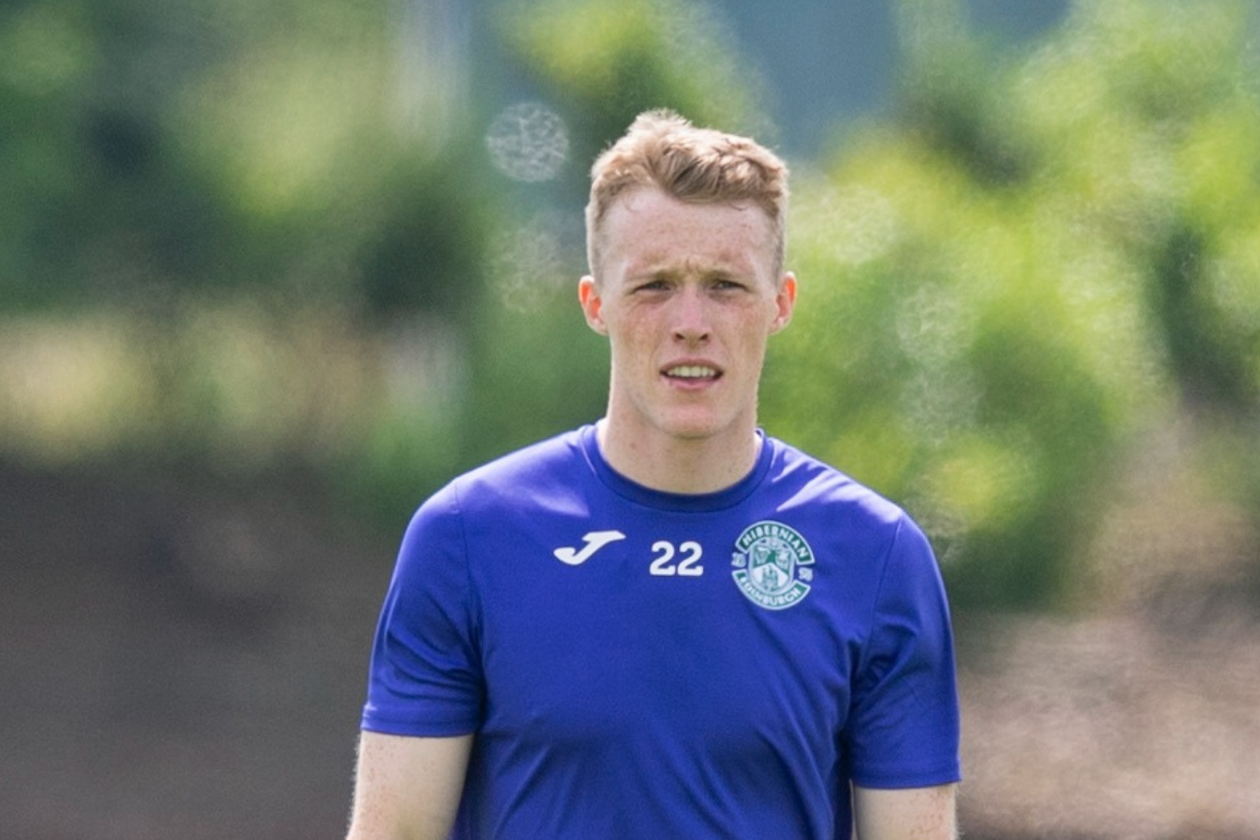 Jake Doyle-Hayes 'proud' after making Hibs debut against Santa Coloma in Europe