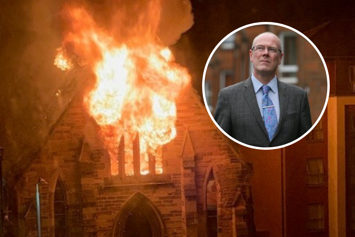 St Simon's church fire: SNP's Kevin Stewart speaks out homophobic abuse