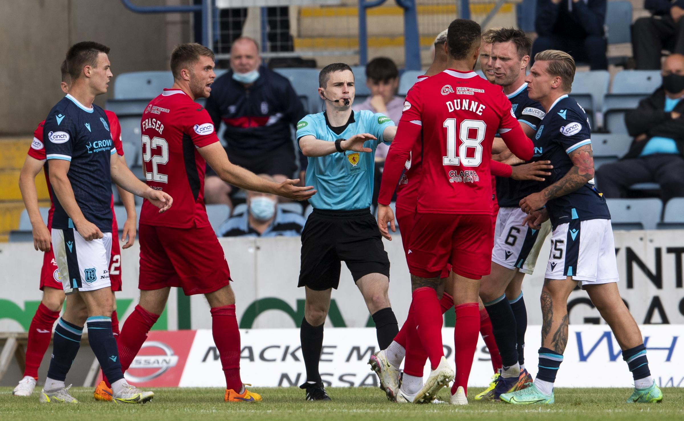 Dundee 2-2 St Mirren: James McPake proud as Dark Blues fight back on top-flight return