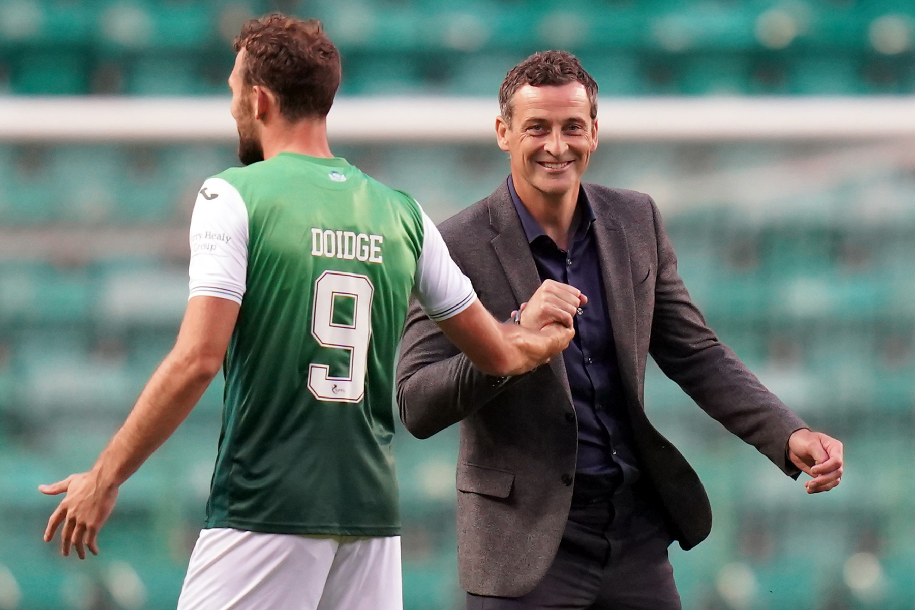Motherwell 2 Hibs 3: Jack Ross hails travelling support after comeback win