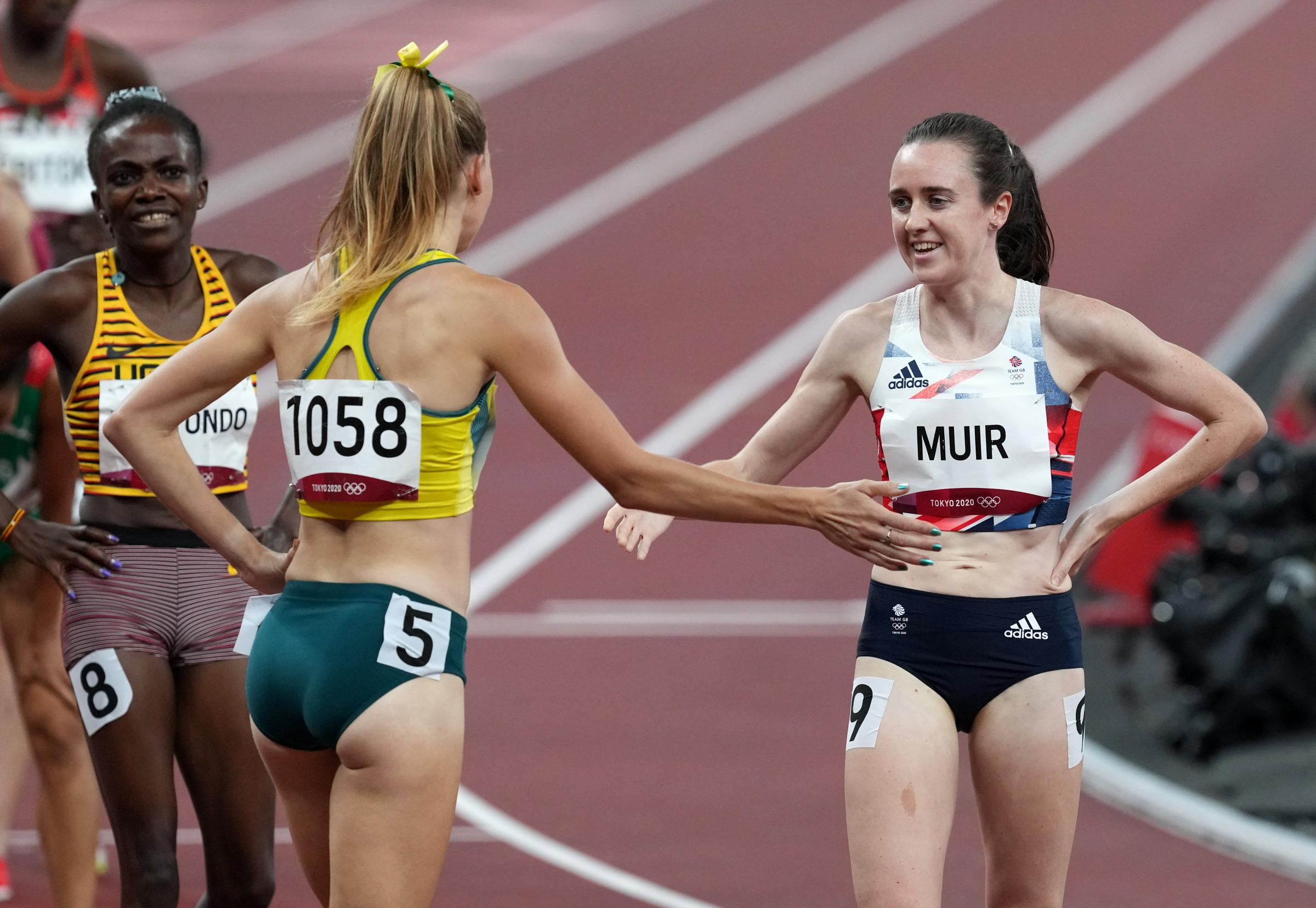 Tokyo Olympics: Laura Muri fully focussed on 1500m final after 'tough' semi-final run